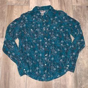 WRANGLER Wrancher Button up Long Sleeve Shirt XL